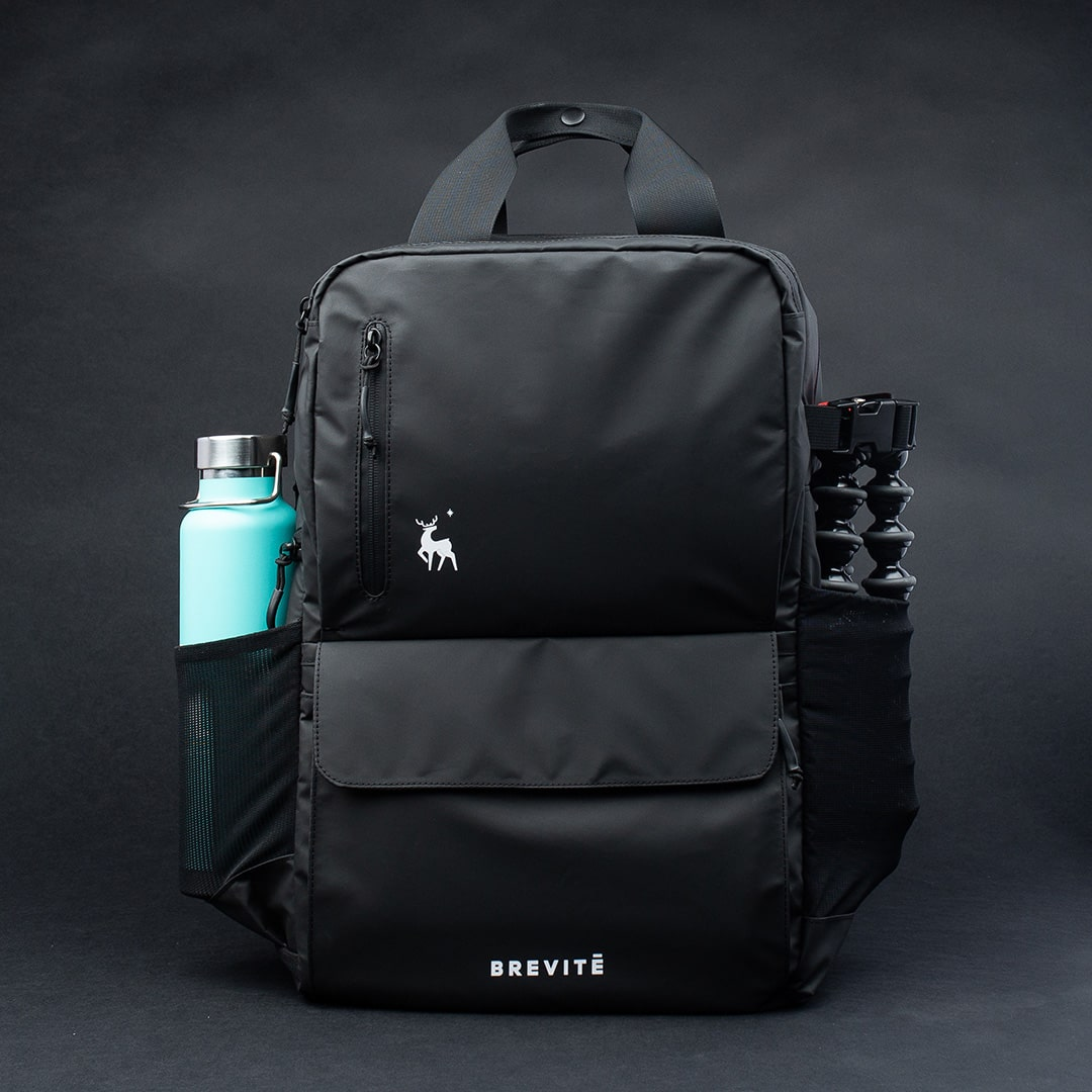 Tripod Holder and Water Bottle Pocket