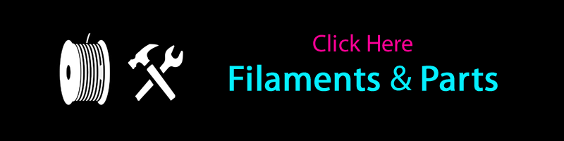 Filaments and Parts for Sindoh 3DWOX 2X