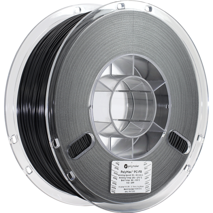 PolyMax™ PC-FR filament, 1.75mm, 1kg Industrial