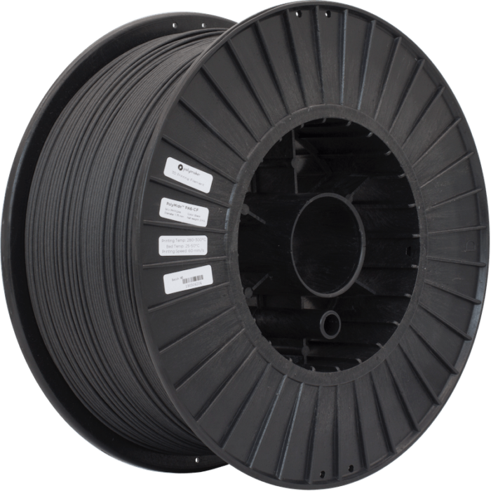 PolyMide™ PA6-CF filament, 1.75mm, 2kg Industrial