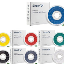 Sindoh 3Dwox Refill Filament ABS 7 colors (for DP200,DP201, 1, 1X, 2X, 7X )