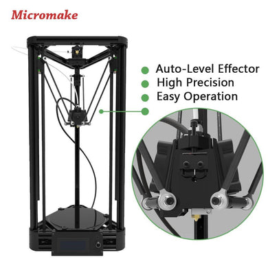 Micromake Pulley Version 3D Printer