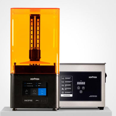 Zortrax Inkspire & Ultrasonic Cleaner