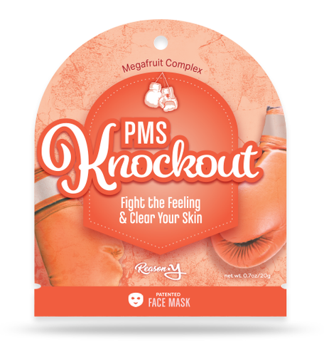 PMS Knockout face mask front