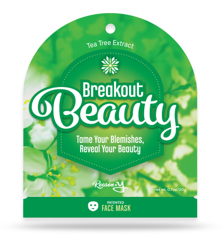 Breakout Beauty acne face mask front