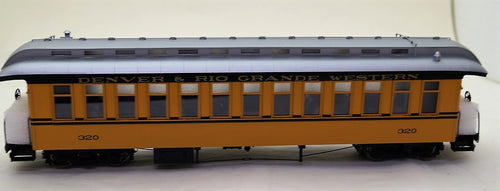 On3 Brass PSC D&RGW Coaches