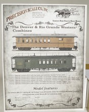 On3/On30 Brass PSC D&RGW Combines - Newest Run