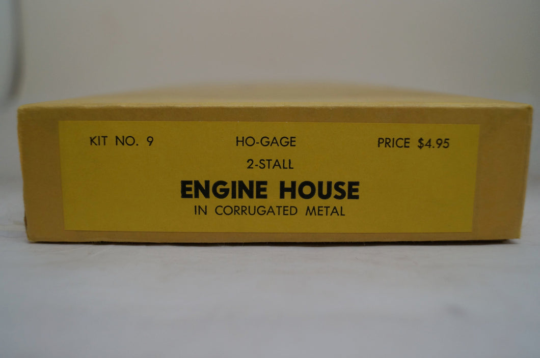 Ho E. Suydam & Co. 2 Stall Engine House Kit