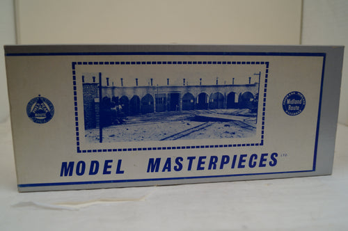 Model Masterpieces Colorado Midland Round House Extra Stall Pair Kit
