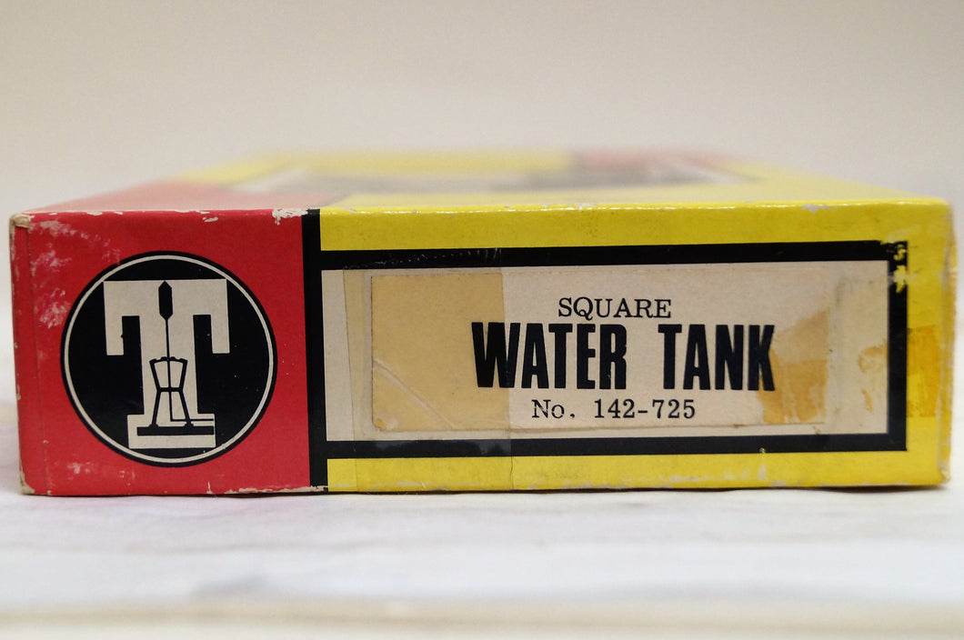 Ho Timberline Scale Models Square Water Tank Kit
