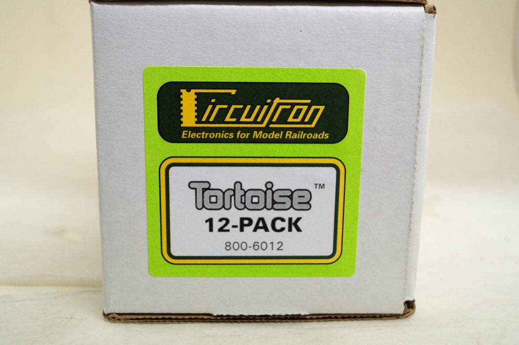 Circuitron Electronics Switch Machines Tortoise Twelve Pack