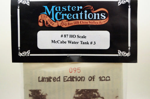 Ho Master Creations McCabe Water Tank Kit
