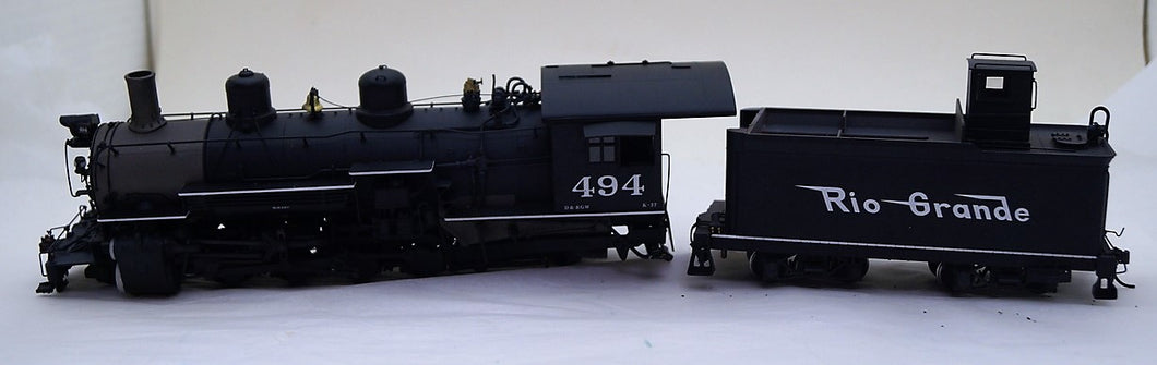 On30 MMI Diecast D&RGW K37's