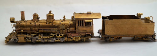 Hon3 Brass PSC D&RGW K-27 #453, unpainted, round tender