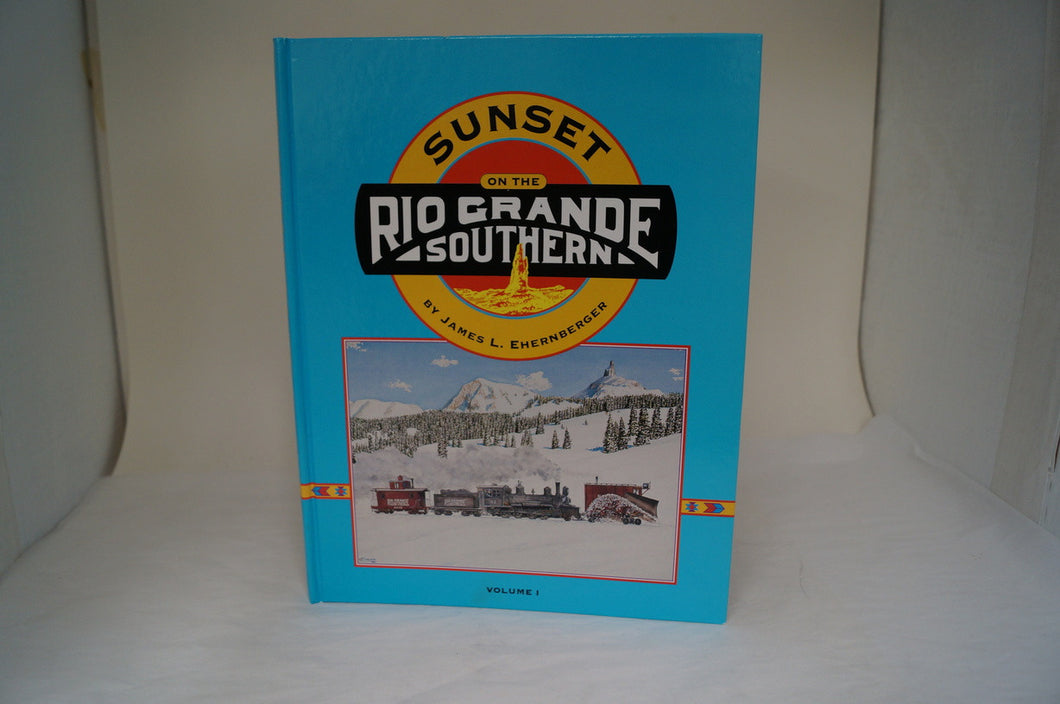 Sunset On The Rio Grande Southern Vol. 1 - Signed!