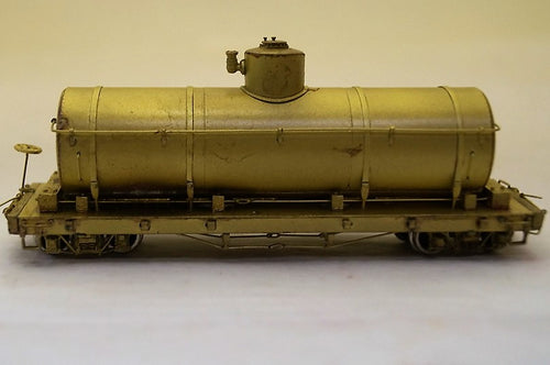 Hon3 Brass PSC Continental Oil Tank Car, Unpainted