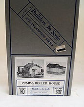 Ho Scale, Builders In Scale Pump & Boiler House Kit