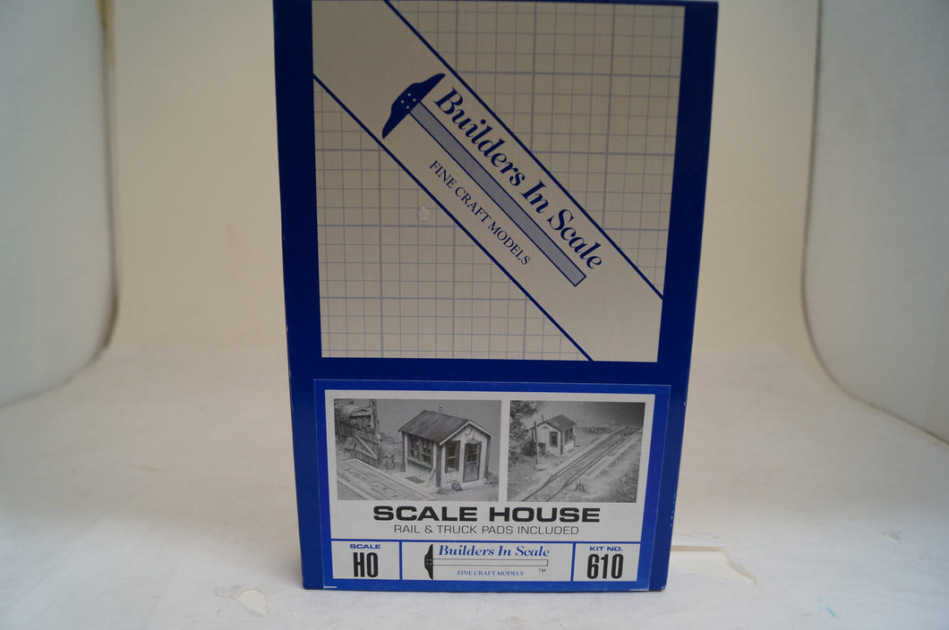 Ho Scale, Builders In Scale, Evening Express Series Scale House Kit