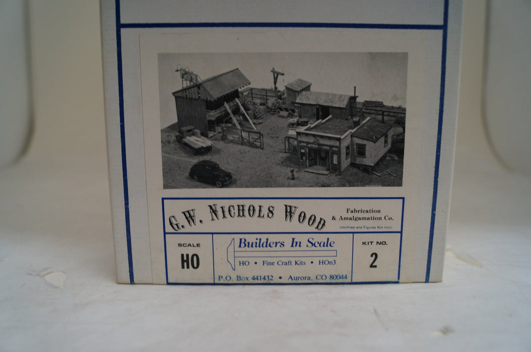 Ho Scale,  Builders In Scale, G. W. Nichols Wood Fabrication & Amalgamation Co. Limited Edition Kit