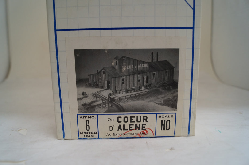 Ho Builders In Scale The Coeur D' Alene An Extrodinary Mine Kit