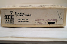Ho Classic Miniature Winter Mansion Kit