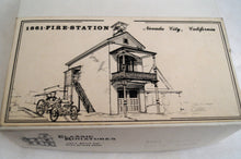 Ho Classic Miniatures Fire Station Kit