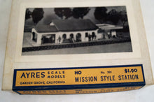 Ho Ayres Scale Models Mission Style Station Kit