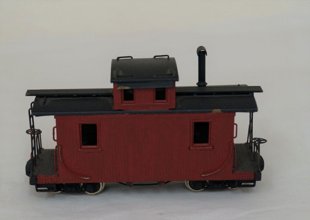 Hon3 Brass Pacific Fast Mail D&RGW Two Truck Short Caboose