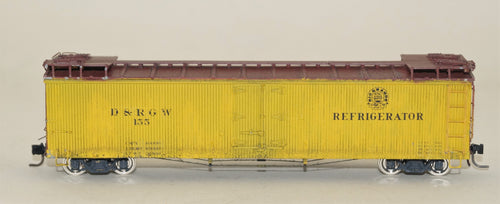 Hon3 Precision Scale Company Built Kit, D&RGW 40' Reefer