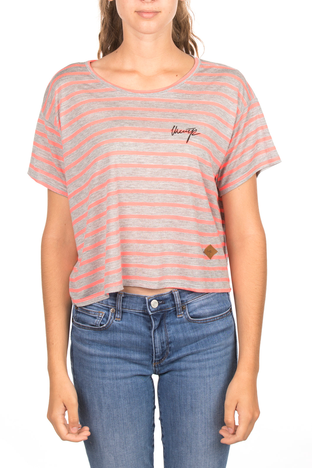 PINK LINES SHIRT