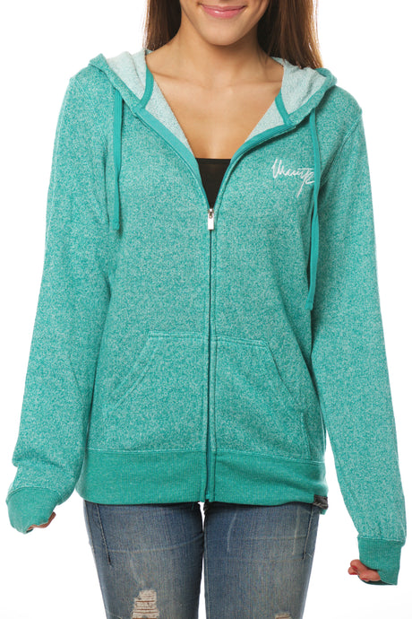 HEATHER GREEN HOODIE