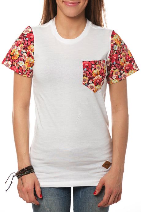 SUMMER FLORAL POCKET SHIRT