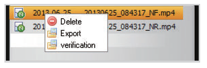 export file with windows