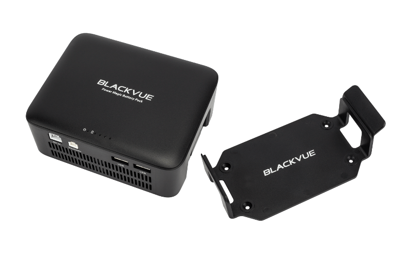 BlackVue B-112 Power Magic Battery Pack for Dashcams with mounting cradle