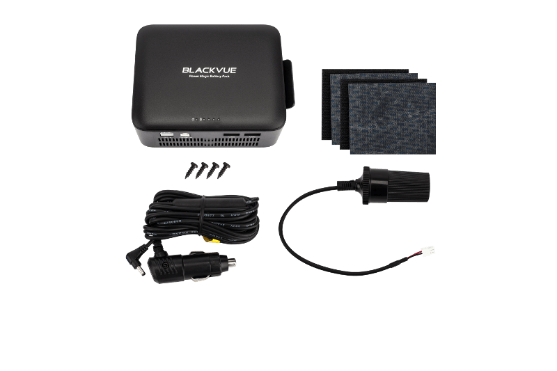 BlackVue B-112 Power Magic Battery Pack for Dashcams with all contents