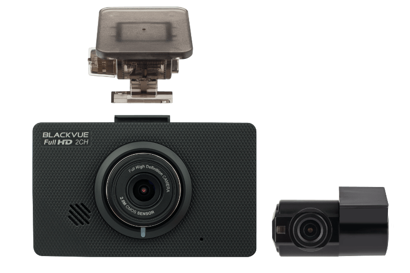 BlackVue DR490L-2CH 1080p Full HD dual-lens dual-1080p dashcam with touchscreen display | Front and Rear Cameras