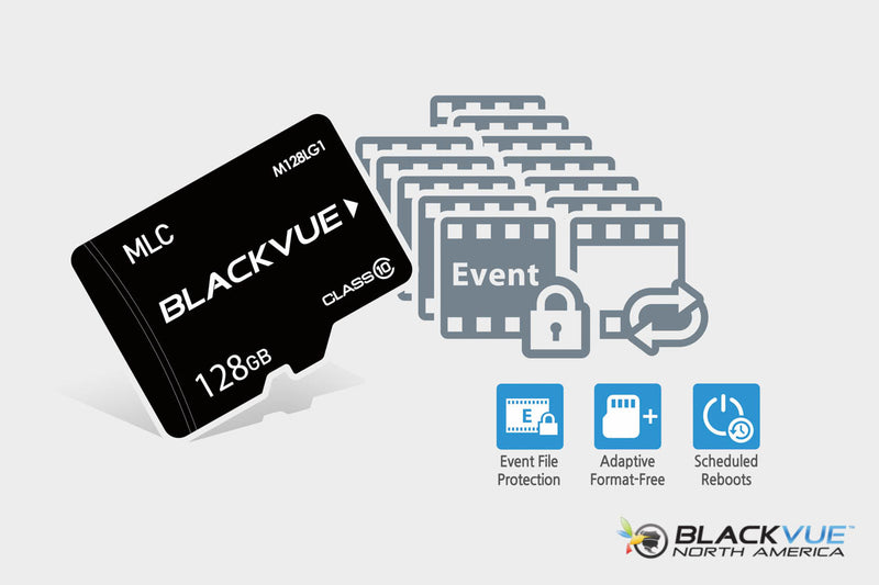 BlackVue DR750S-1CH Dash Cam | Intelligent File Management
