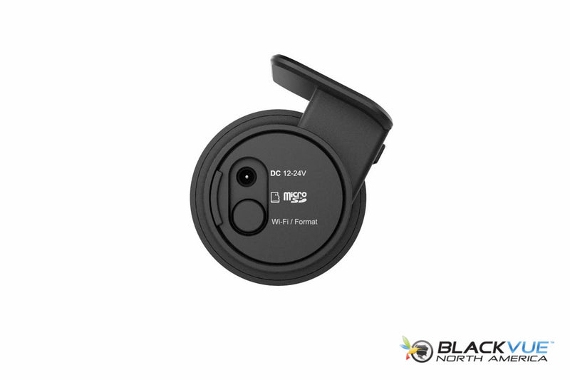 BlackVue DR750S-1CH Dash Cam | Side View Showing Proximity Sensor and WiFi Button Functions