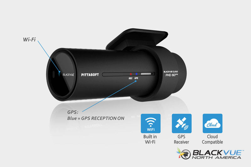 Dual-Lens Dual 1080p Dashcam for Front and Rear - DR750S-2CH