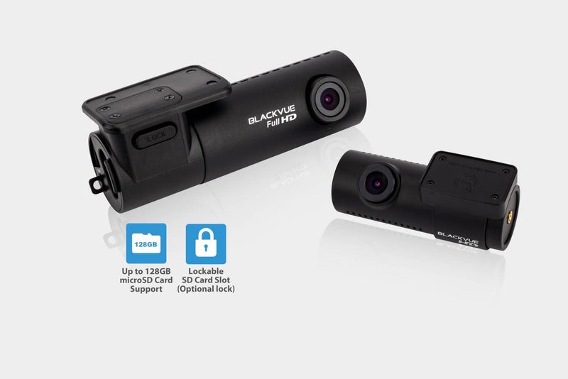 BlackVue DR470-2CH 1080p HD dual-lens GPS-ready dashcam | For front/rear audio and video recording