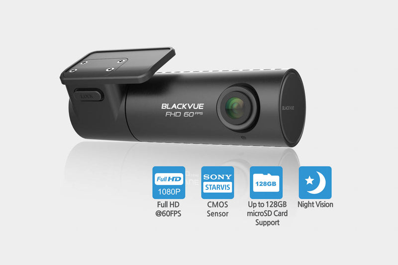 BlackVue DR590W-1CH 1080p 60fps Single-Lens Dashcam with WiFi