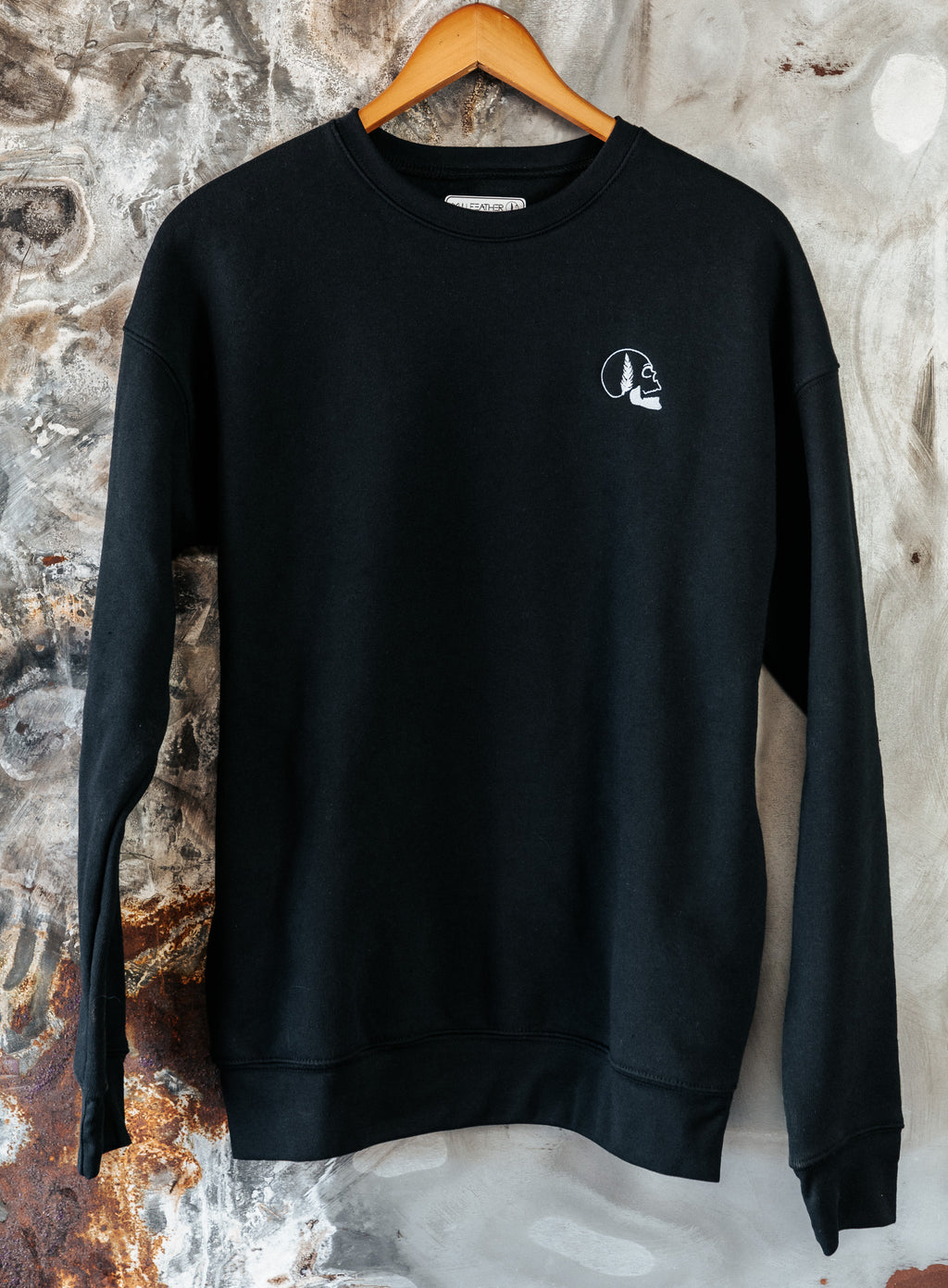 Skullfeather Crewneck - Embroidered
