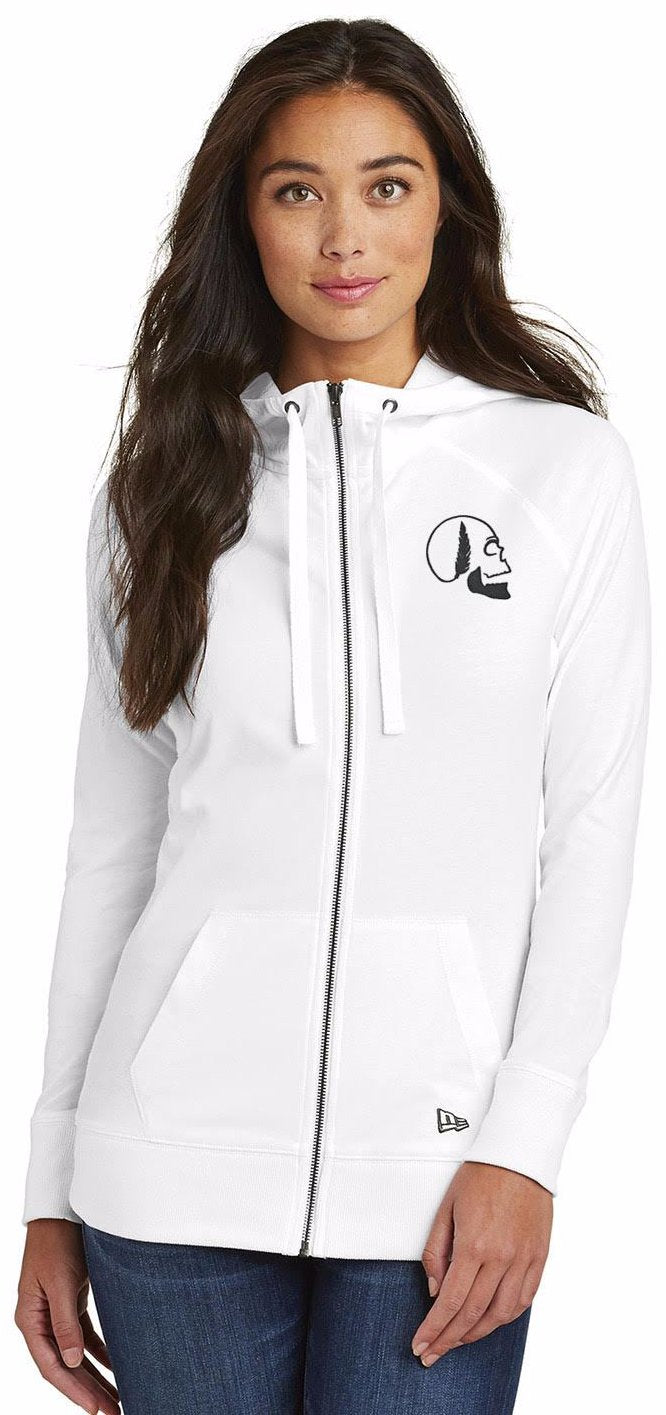 Women's SF New Era Sueded Full-Zip Hoodie