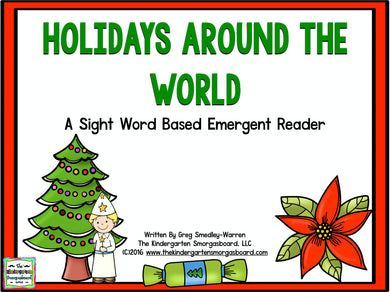 Holidays Around the World Emergent Reader