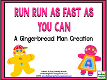 Gingerbread Man: A Math and Literacy Creation