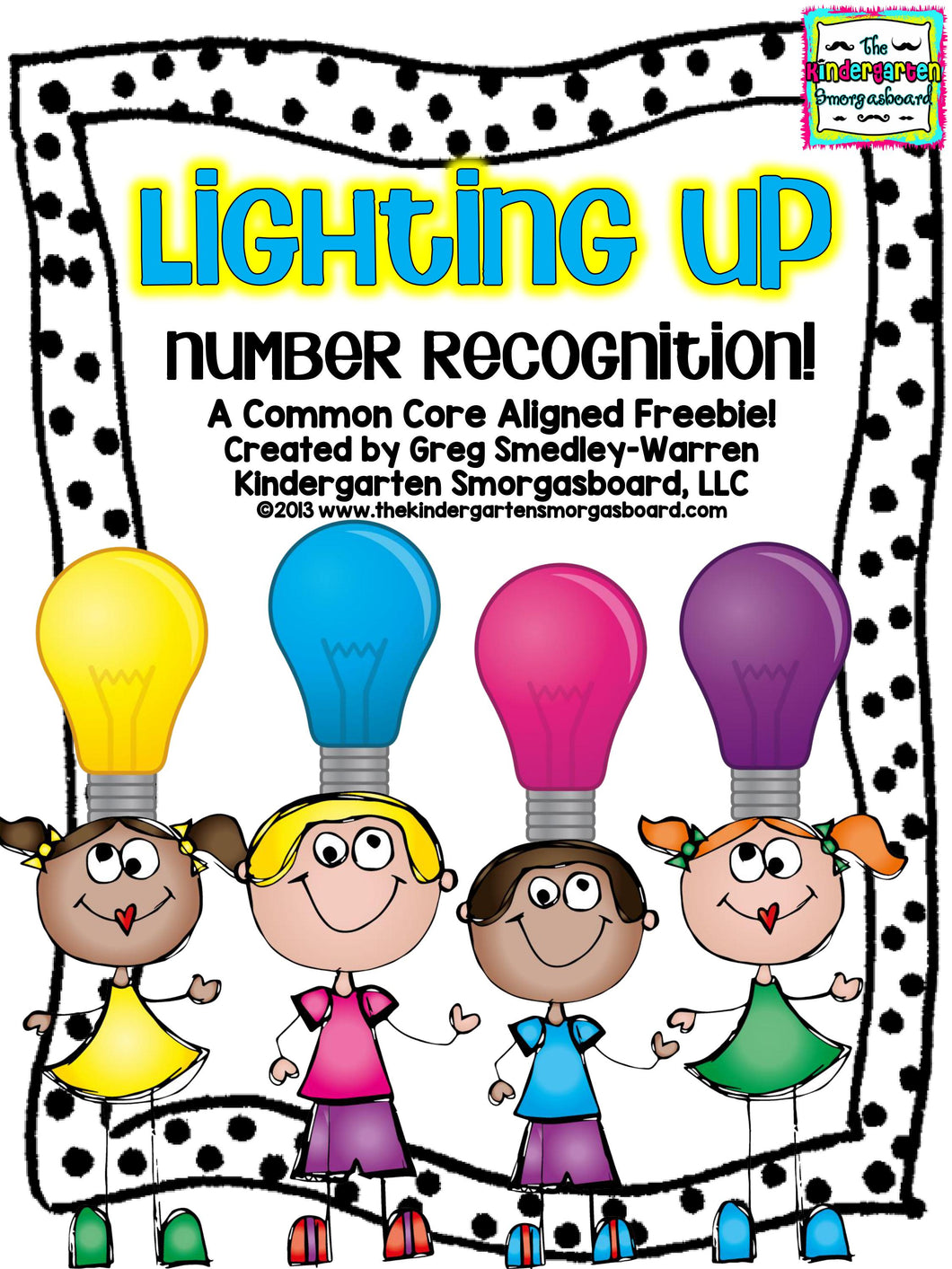 Lighting Up! Number Recognition