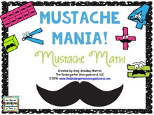 Mustache Math! A Math Creation