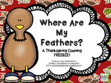 Where Are My Feathers? Counting Center