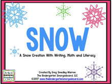 Snow! A Winter Math and Literacy Unit