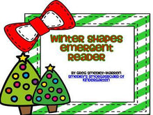 Holiday Shapes Book FREEBIE!